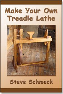 Make Your Own Treadle Lathe by Steve Schmeck. Both printed and ebook versions.