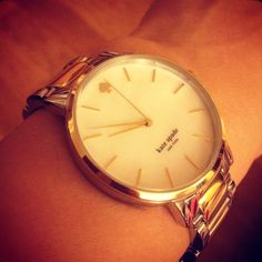 My Kate Spade two tone watch