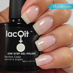 There's Sand in my Castle  from the New LacQit summer poolside / beach collection . 11.99 - 30 gel manicures per bottle . Www.lacit.com