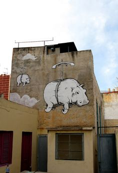Muro, Flying Hippo, Canary Islands