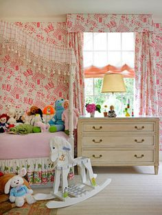 Frank de Biasi Interiors, girls bedroom