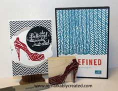 stampin up #undefined - carve your own stamps with the new undefined kit.