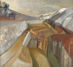 Ben Nicholson, 1923 (Vineyard in Winter)