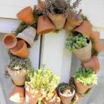 Potted Wreath Imperfection
