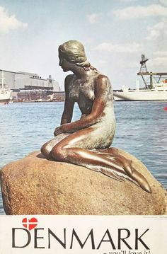 SCANDI STYLE - Denmark - The Little Mermaid