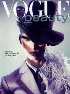 Vogue Italia Editorial Vogue Italia Beauty, June 2009 Shot #1    Val Garland makeup