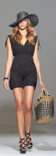 Like this black swimsuit cover up