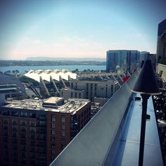 Just another one of those gorgeous days! Come 22 floors up and see for yourself! @dougruocco