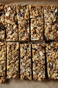 Quinoa Trail Mix Bars