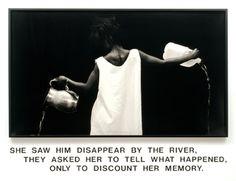 Le Jeu de Paume à paris accueille jusqu'au 1er septembre une rétrospective de l'artiste américaine Lorna Simpson. Ses vidéos, écrits, et surtout ses photographies (accompagnées de très riches narratifs) mettent en lumière des questions d'identité, de morale, de sexe et de mémoire. L'exposition rassemble les phototextes de grand format du milieu des années 1980 qui l'ont fait connaître de la critique, des sérigraphies sur panneaux de feutre, des dessins mais aussi des installations vidéo.