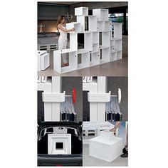 Assemblage Modular Storage & Seletti Assemblage | YLiving