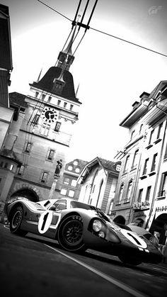 Ford Mark IV Race Car  http://www.turrifftyres.co.uk