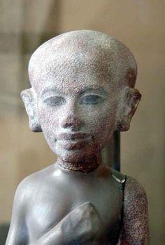 One of the daughters of Akhenaten and Nefertiti. Cairo Museum, Egypt.