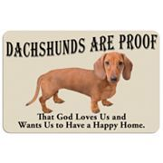 dachshund anim, doxi, doormat, dachshunds, happy home, homes, dog, sweet peas, floor mats