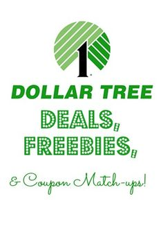 Dollar Tree Deals are up! See what you can get for FREE!!