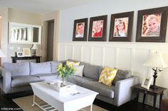 Lolly Jane- Craft tutorials & DIY home decor: Living Room on a Budget
