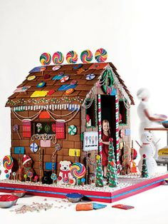 Yep, a pretty expensive real-life edible gingerbread playhouse!!! Yummmmmm...