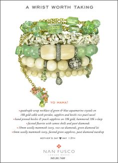 the new may stack from Nan Fusco Jewelry