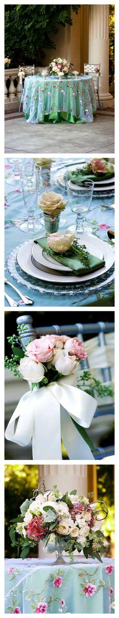 Tablescape ● Spring Floral