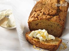 Love banana bread? Why not try it's slightly more exotic sibling, zucchini bread - it's just as moreish, especially dolloped with fresh ricotta and drizzled with honey.