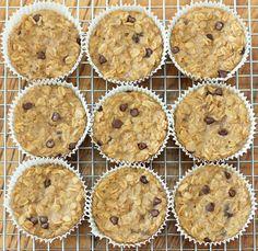 Oatmeal Breakfast Cupcakes