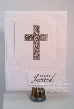 First Communion Idea by stampinggoose - Cards and Paper Crafts at Splitcoaststampers