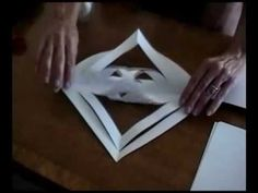 How to Make a 3D Paper Snowflake - YouTube