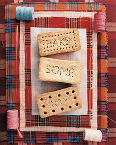 Shortbread Bricks Recipe