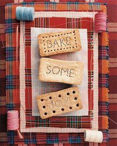 Shortbread Bricks Recipe