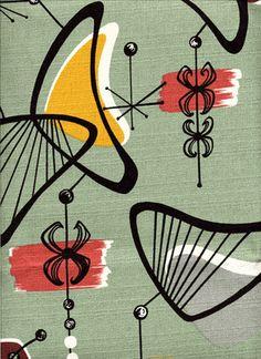 fifties retro pattern