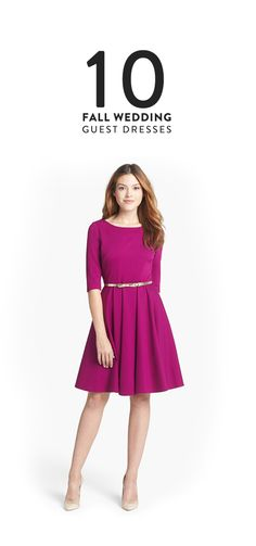 10 Dresses to Wear to a Fall Wedding
