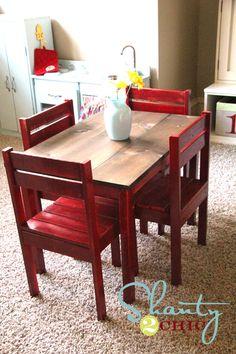 great diy kid table