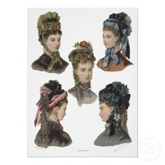 victorian era hats, victorian hair, fashionvintag hat, hair style, beauty, victorian era hairstyles, object victoriana, thing victorian, steampunk