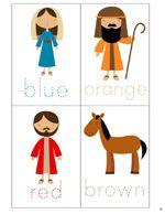 Free nativity printable pack.  Free Christmas cuteness!