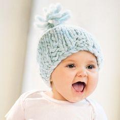 Blue Sky AlpacasBulky Baby Hat. Knit pattern