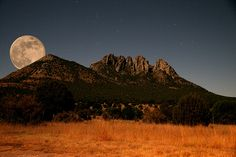 "David Barclay - ""Midnight Mountain"" Sawtooth Mt outside Ft. Davis, Texas 	 	   		       	    Midnight Mountain"