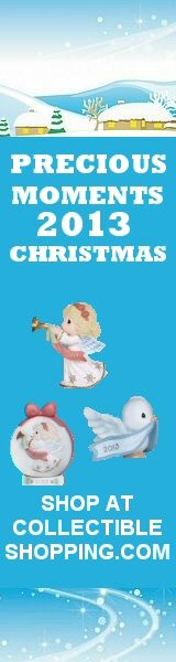 Precious Moments 2013 Girl Christmas Ornament and 2013 Animal Christmas Ornament. Order 4 or more and get FREE Shipping. Mix and Match! Click image to buy via CollectibleShopping.com #preciousmoments #christmas #datedornaments #gifts