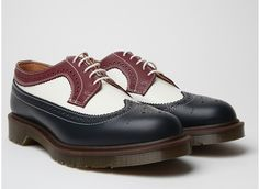 Dr. Martens Made in England Men's 3989 Brogues Shoes.