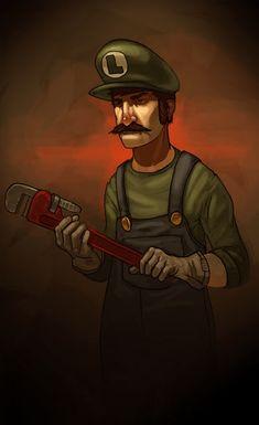 Community: Super Mario Bros. Re-Imagined In 100 Images
