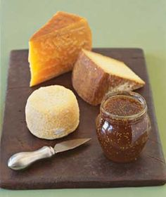 Creating a cheese plate, what to buy, how much, from Real Simple