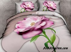 Vivid Pink Flower Print 4-Piece 3D Duvet Cover Sets  Live a better life, start with @beddinginn http://www.beddinginn.com/product/Amazing-Vivid-Pink-Flower-Print-4-Piece-3D-Duvet-Cover-Sets-10968691.html