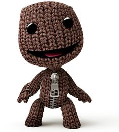 "Sackboy from ""LittleBig Planet"""