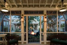 cottag, screen porch