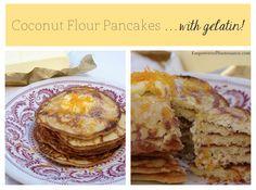 Coconut Flour Pancakes… with Gelatin!