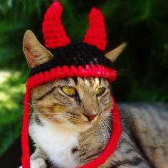 Gorro Diablo para Halloween