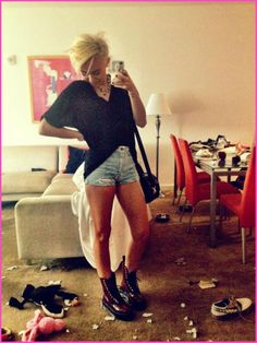 Miley Cyrus Can't Get Enough Of Her Short Hair