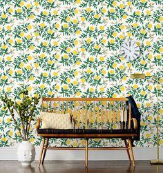 This Rifle wallpaper is gorgeous. decor, homey, color, casa, evolv, environ, hous, brit, eclect