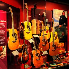 Martin Guitars are made in Nazareth, PA. You can tour their museum for free.