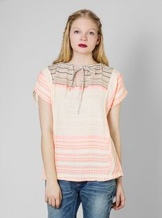 Couverture and The Garbstore - Womens - Ace & Jig - Turnaround Tie Top