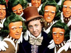 Wonka & his oompas! chocolate factory, factori 1971, chocolates, chocol factori, willi wonka, oompa loompa, movi, kid children, factories